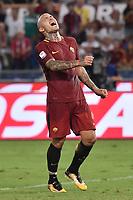 Delusione Radja Nainggolan Roma Dejection <br /> Roma 26-08-2017 Stadio Olimpico Calcio Serie A AS Roma - Inter Foto Andrea Staccioli / Insidefoto
