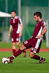 Dragan Ovcina of Triglav during the football match between NK Triglav Gorenjska and NK Olimpija, played in the 9th Round of Prva liga football league 2010 - 2011, on September 19, 2010, Mestni stadion, Kranj, Slovenia. Olimpija defeated Triglav 5 - 0. (Photo by Vid Ponikvar / Sportida)