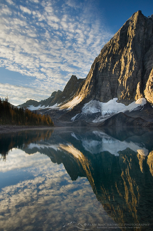 Sunrise on The Rockwall and Floe Lake, Kootenay National Park British Columbia