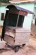 Pizza cart in Cumanayagua, Cienfuegos, Cuba.