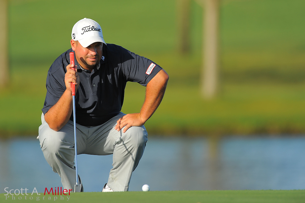 Brendon de Jonge during the first round of the Arnold Plamer Invitational at the Bay Hill Club and Lodge on March 22, 2012 in Orlando, Fla. ..©2012 Scott A. Miller.