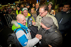 Goran Janus at reception of Slovenia team arrived from Winter Olympic Games Sochi 2014 on February 19, 2014 at Airport Joze Pucnik, Brnik, Slovenia. Photo by Vid Ponikvar / Sportida