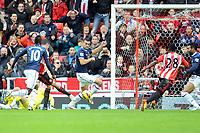 Football - 2012 / 2013 Premier League - Sunderland vs. Tottenham Hotspur<br /> John O'Shea (Sunderland) gets his first goal at the Stadium of Light