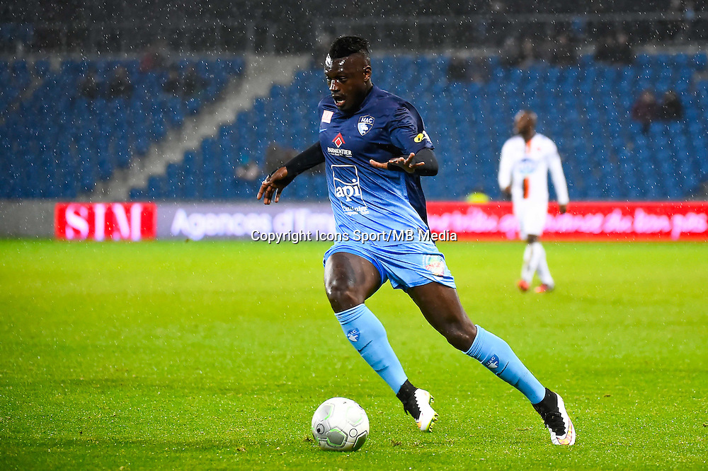 Joseph MENDES  - 12.12.2014 - Le Havre / Laval - 17eme journee de Ligue 2 <br /> Photo : Fred Porcu / Icon Sport