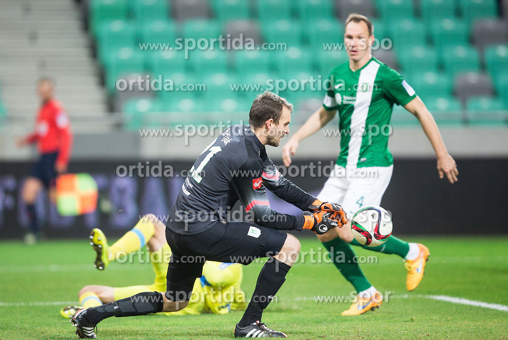 Darko Brljak #21 of Olimpija during football match between NK Olimpija Ljubljana and NK Domzale in 21st Round of Prva liga Telekom Slovenije 2015/16, on December 6, 2015 in SRC Stozice, Ljubljana, Slovenia. Photo by Vid Ponikvar / Sportida