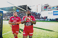 Mathieu BASTAREAUD / Xavier CHIOCCI - 05.04.2015 - Toulon / Londres Wasps - 1/4Finale European Champions Cup<br />