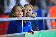Young Rochdale fans during the EFL Sky Bet League 1 match between Rochdale and Walsall at Spotland, Rochdale, England on 25 August 2018.
