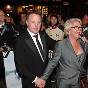 NLD/Amsterdam/20081117 - Premiere Oorlogswinter, Bob Fosko en partner Vera Jong