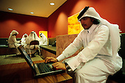 QATAR. Doha. University. Future engineers of the Gulf...In the cafeteria, while some relax others work hard. These students of the Texas A&M University plan to be the future oil or gas engineers of the Gulf..