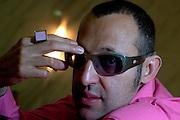 Belo Horizonte_MG, Brasil...Retrato do designer egipcio Karim Rashid...Portrait of Karim Rashid, he is a Egyptian designer...Foto: LEO DRUMOND / NITRO