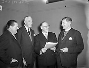 Incorporated Sales Managers Association (Ireland Branch) at Brown Thomas Grafton St. (Special for McConnell's)<br /> 13/11/1953