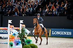 ESTERMANN Paul (SUI), Lord Pepsi<br /> Paris - FEI World Cup Finals 2018<br /> Longines FEI World Cup Jumping Final IV<br /> www.sportfotos-lafrentz.de/Stefan Lafrentz<br /> 15. April 2018