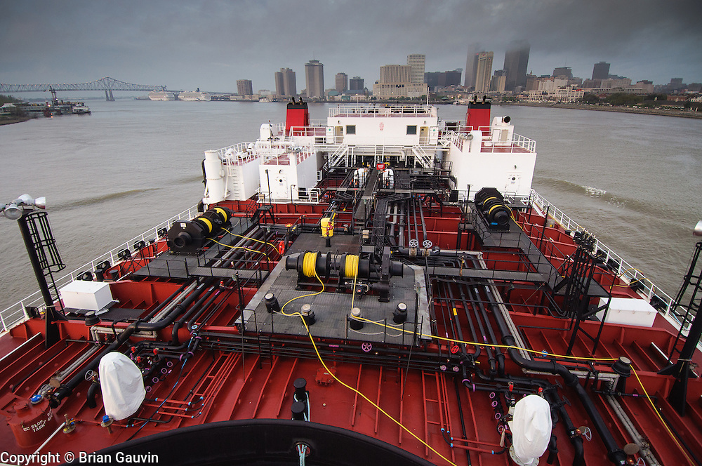 making Algiers Pt. New Orleans. ATB, Legacy and barge 750-1, Crowley Maritime. Transporting primium and regular grade gasoline from Marathon Oil in Garryville, La. to Port Everglades and Tampa Florida.