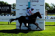 Illegitimate Gains ridden by Ryan Powell and trained by Adam West in the Sds Intellistorm Handicap race.  - Ryan Hiscott/JMP - 14/09/2019 - PR - Bath Racecourse - Bath, England - Race Meeting at Bath Racecourse