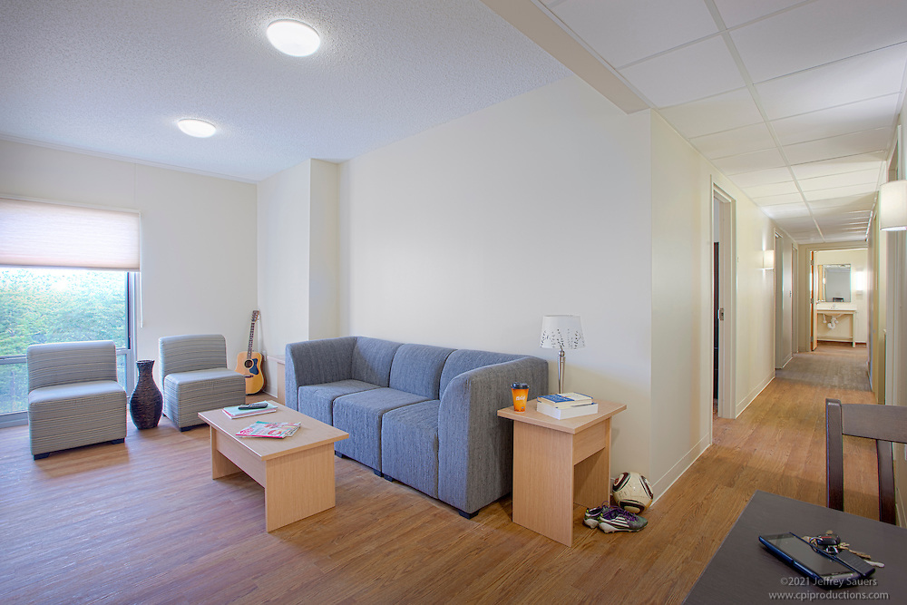 Interior Image Of Cassell Hall Dorm Room At American University In Washington DC By Jeffrey Sauers
