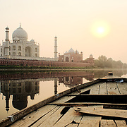 Agra and Taj Mahal