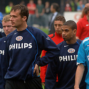 NLD/Rotterdam/20060507 - Finale competitie 2005/2006 Gatorade cup Ajax - PSV, Michael Reiziger, Andre Ooijer