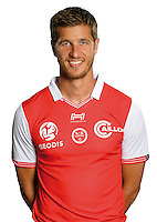Anthony Weber of Reims during the photocall of Reims for new season of Ligue 2 on September 29th 2016 in Reims<br /> Photo : Stade de Reims / Icon Sport