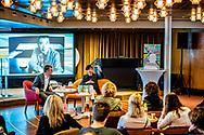 ROTTERDAM - PETER BUWALDA een Murakami weekend op de SS Rotterdam. copyright robin utrecht