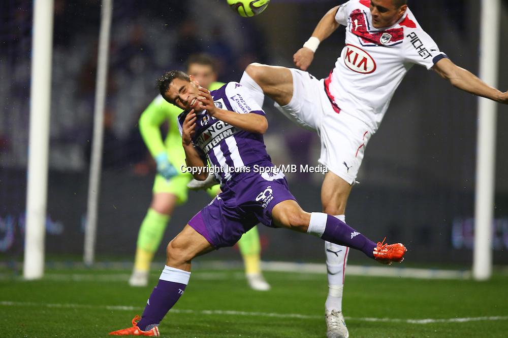 Wissam Ben Yedder - 21.03.2015 - Toulouse / Bordeaux - 30eme journee de Ligue 1<br />Photo : Manuel Blondeau / Icon Sport