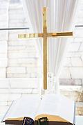 Altare i kapellet Washington Hotell i Iwaki, Japan.