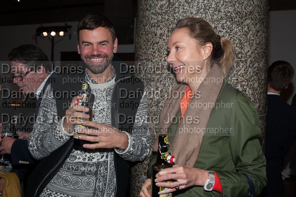 Ingar Dragset; Michaela de Pury, DINNER TO CELEBRATE THE ARTISTS OF FRIEZE PROJECTS AND THE EMDASH AWARD 2012 hosted by ANDREA DIBELIUS founder EMDASH FOUNDATION, AMANDA SHARP and MATTHEW SLOTOVER founders FRIEZE. THE FORMER CENTRAL ST MARTIN'S SCHOOL OF ART AND DESIGN, SOUTHAMPTON ROW, LONDON WC1. 11 October 2012