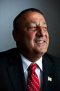 Paul LePage, current Mayor of Waterville, Maine and the GOP candidate for governor of Maine. Tuesday, June 22, 2010. Craig Dilger for The New York Times.