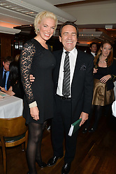 HANNAH WADDINGHAM and ROBERT LINDSAY at One Night Only at The Ivy in aid of Acting For Others supported by Tanqueray No.TEN Gin at The Ivy, 1-5 West Street, London on 1st December 2013.
