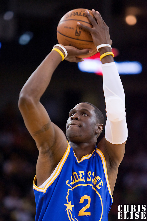 NBA - OAKLAND (USA) - ORACLE ARENA - 08/04/2008 - .SACRAMENTO KINGS V GOLDEN STATE WARRIORS (WINNER 140-132) - MICKAEL PIETRUS (2) (GOLDEN STATE WARRIORS)