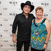 Clint Black performs for a full house during the Old Town Amphitheater Series in Rock Hill, SC.