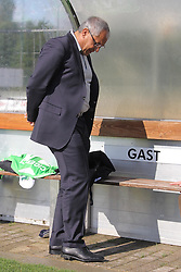 24.06.2011 Sportplatz, Gifhorn, GER, FSP, 1.FBL, VFL Wolfsburg vs Neudorf-Platendorf im Bild Felix Magath  ( Headcoach) (Wolfsburg GER) schut nach unten  EXPA Pictures © 2011, PhotoCredit: EXPA/ nph/  Rust       ****** out of GER / SWE / CRO  / BEL ******