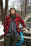 Adam Tasker, Butternut Mountain Farm Maple Sugaring, Johnson, Vermont.