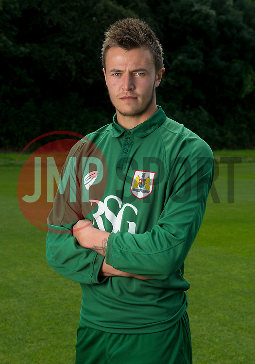 Bristol City Goalkeeper, Dave Richards  - Photo mandatory by-line: Joe Meredith/JMP - Mobile: 07966 386802 05/08/2014 - SPORT - FOOTBALL - Bristol - Ashton Gate - Press Day