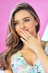 60160553 <br /> Model Miranda Kerr attends a press conference during the Samantha Thavasa Ladies Tournament at Eagle Point Golf Club, in Ami, Ibaraki, Japan, <br /> Friday 19th July 2013<br /> Picture by imago / i-Images<br /> UK ONLY
