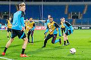 SINT PETERSBURG - 28-09-2016, Zenit - AZ, training en persconferentie, Petrovskiy Stadion, AZ speler Fred Friday