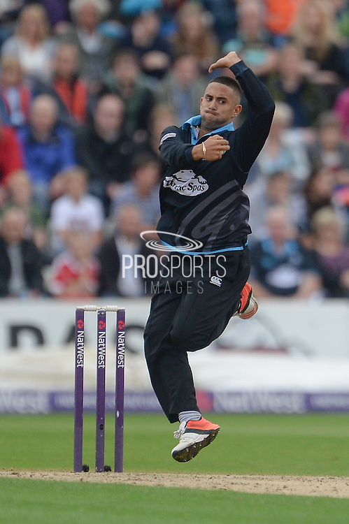 Brett D'Oliveira during the NatWest T20 Blast Quarter Final match between Worcestershire County Cricket Club and Hampshire County Cricket Club at New Road, Worcester, United Kingdom on 14 August 2015. Photo by David Vokes.