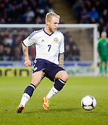 Dundee United's Johnathon Russell - Scotland v Holland - UEFA U21 European Championship qualifier at St Mirren Park..© David Young - .5 Foundry Place - .Monifieth - .Angus - .DD5 4BB - .Tel: 07765 252616 - .email: davidyoungphoto@gmail.com.web: www.davidyoungphoto.co.uk