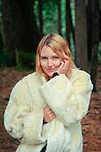 2012 White Fur Coat - Jessie James Hollywood