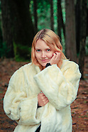 2012 White Fur Coat - Jessie James Hollywood