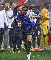 FUSSBALL  WM 2018  FINALE  ------- Frankreich - Kroatien    15.07.2018 Corentin Tolisso (Frankreich)