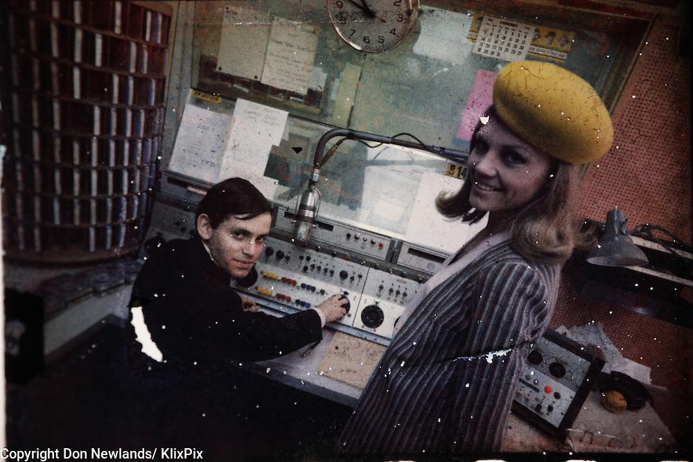 Steve Grossman, CKLG, Stevie Wonder, DJ, man; entertainer; woman; broadcast; talent; music; Vancouver,1967-69