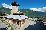 Manu Temple, which was rebuilt in 1992,  is dedicated to the Indian Sage manu, who is said to be the creator of the world and the writer of Manusmriti.  The temple is located at old Manali, about 3km from the Mall Road, attract thousands of visitors every year and is one of the main attraction of the town.