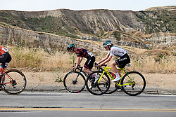 Tiffany Cromwell (AUS) and Anna Christian (GBR) at Amgen Tour of California Women's Race empowered with SRAM 2019 - Stage 3, a 126 km road race from Santa Clarita to Pasedena, United States on May 18, 2019. Photo by Sean Robinson/velofocus.com