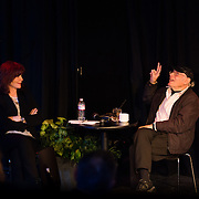 Kathleen Soldati interviews legendary photo journalist Joe Stevens about his life photographing some of the music industry's major artists, during the 2013 Portsmouth Singer Songwriter Festival, at The Loft in Portsmouth, NH.