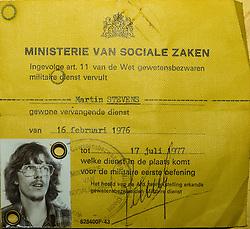 identieteitskaart vervangende dienst