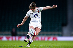Katy Daley-Mclean of England Women - Mandatory by-line: Robbie Stephenson/JMP - 16/03/2019 - RUGBY - Twickenham Stadium - London, England - England Women v Scotland Women - Women's Six Nations
