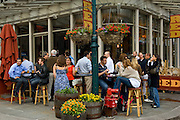 Bar at South Street Seaport, downtown, Manhattan,New York,U.S.A.,