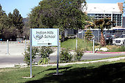 At least two of the Bling Ring members met when attending the Indian Hills High School in Los Angeles. 28545 West Driver Avenue, Agoura Hills, CA 91301, USA.