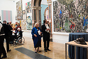 DAME VIVIAN DUFFIELD, ROCCO FORTE, 2019 Royal Academy Annual dinner, Piccadilly, London.  3 June 2019