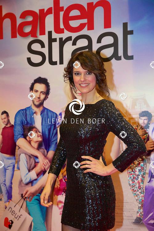 AMSTERDAM - In het Tuschinski theater is de nieuwe Nederlandse film 'Harten Straat' in premiere gegaan. Met op de rode loper   Susan Visser. FOTO LEVIN DEN BOER - PERSFOTO.NU